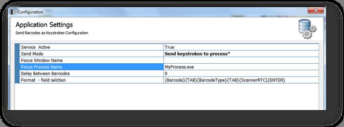Barcode logging options