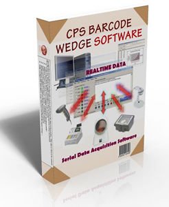 CPS Barcode Wedge Ver 6.8 screenshot