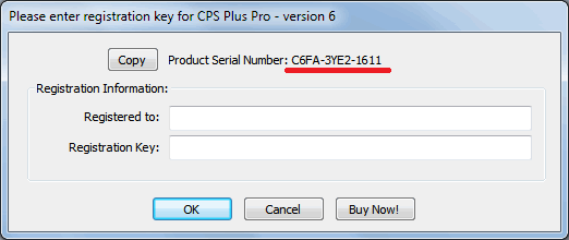 CPS Plus Professional Ver 6.9 crack serial